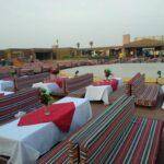 Bedouin Camp in the Desert