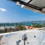 Jacuzzi with view in Phuket at Patong Beach Hotel