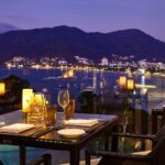 Dining at the clubhouse in Amari Phuket