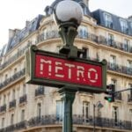 Paris Metro in France