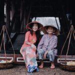 Friendly locals in Vietnam
